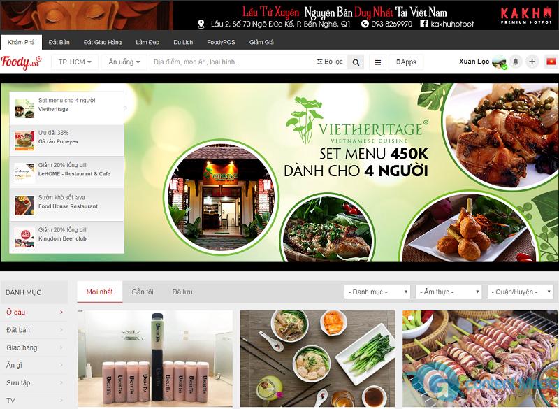 Quảng cáo trên Foody, cách liên hệ đăng quảng cáo Foody, chi phí bảng giá quảng cáo Foody, đăng ký quảng cáo Foody Sài Gòn