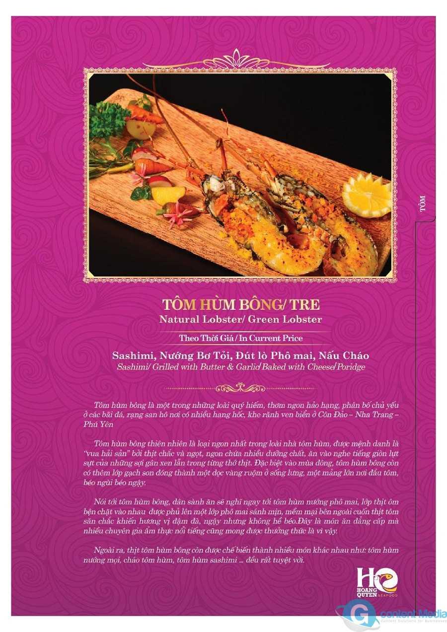 Viết lời giới thiệu món ăn menu - Chiêu giúp khách thèm và nhớ mãi