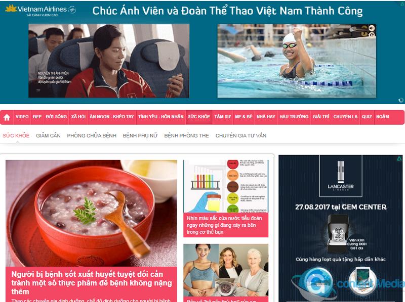 Bảng giá quảng cáo báo Afamily.vn CHIẾT KHẤU CAO