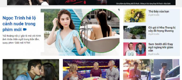 Bảng giá quảng cáo báo điện tử ngoisao.net cập nhật liên tục