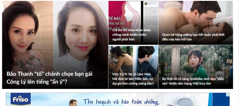 Bảng giá đặt quảng cáo báo phunutoday.vn chiết khấu % cao