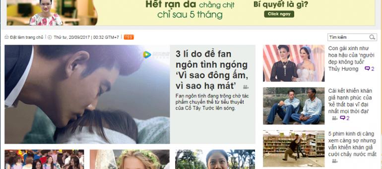 Bảng giá quảng cáo báo Ione.net cập Chiết khấu % Cao Booking nhanh