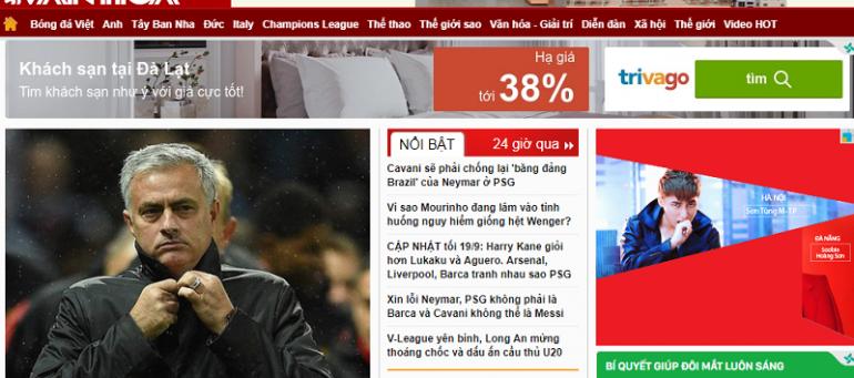 Bảng giá quảng cáo báo thethaovanhoa.vn CK% CAO – Booking Nhanh
