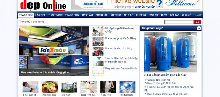 Báo giá quảng cáo deponline.vn Booking nhanh - CK % cao