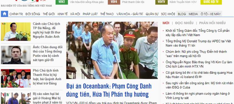 Bảng giá quảng cáo báo điện tử VOV.vn Chiết khấu CAO - Book nhanh