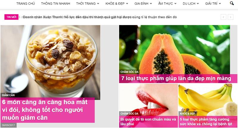 Bảng giá quảng cáo báo phunungaynay.vn - CK % CAO - BOOK nhanh