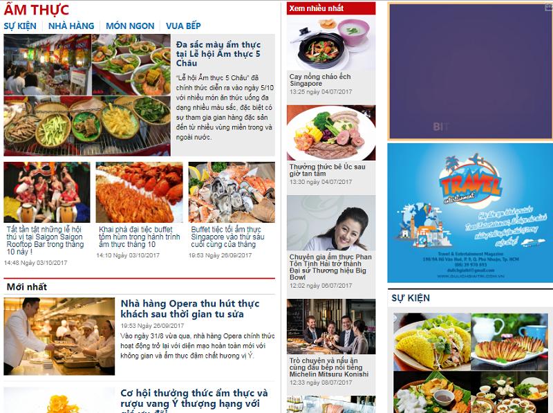 Báo giá quảng cáo dulichgiaitri.com.vn - Tạp chí du lịch uy tín