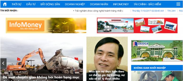Bảng giá quảng cáo báo Đầu Tư (baodautu.vn): Báo giấy + báo mạng điện tử