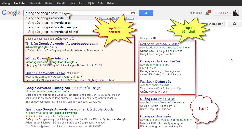 Dịch vụ chạy quảng cáo top google cho nhà hàng hiệu quả cao, giá cực rẻ