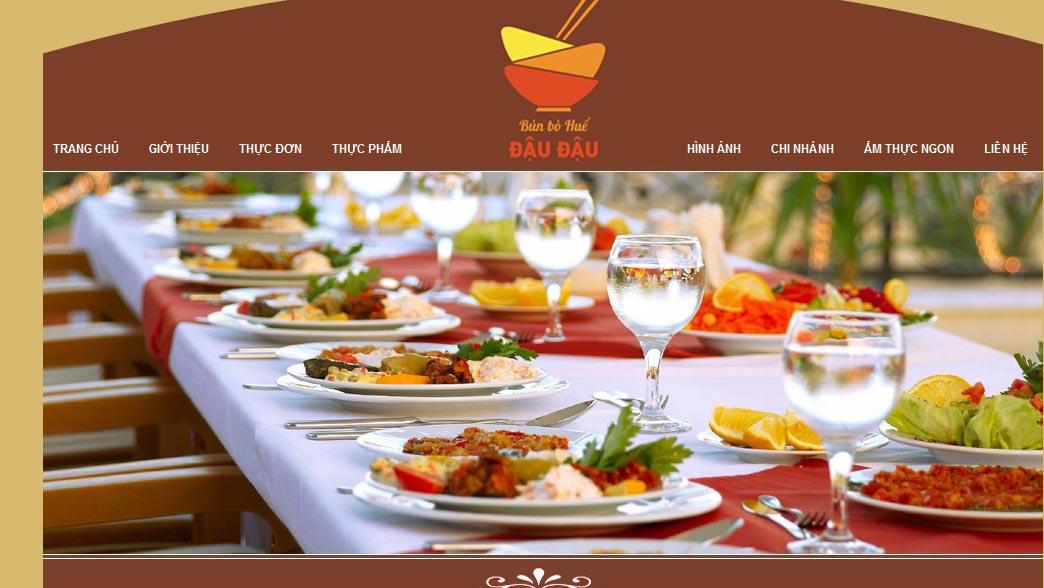 Thiết kế website cho nhà hàng như thế nào dễ gây ấn tượng mạnh với người xem